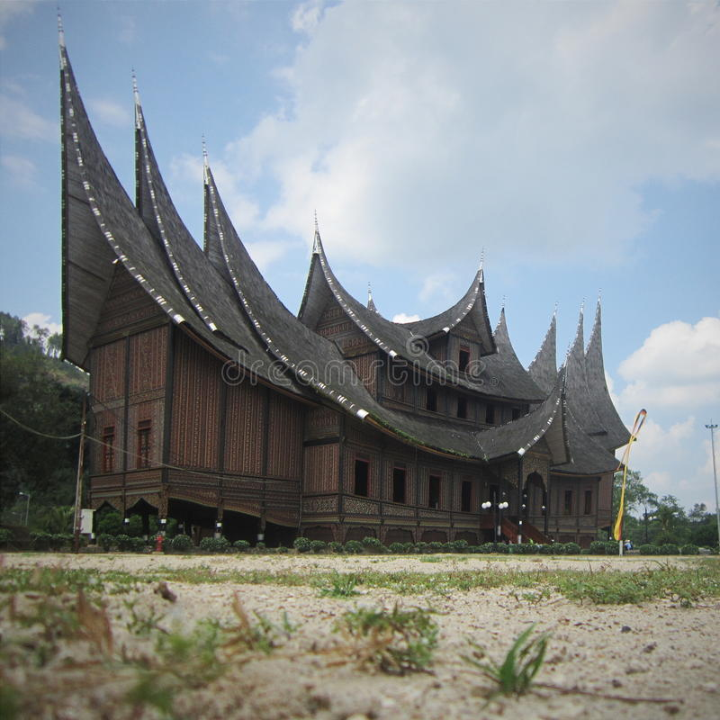 Pagaruyuang宫殿 库存照片