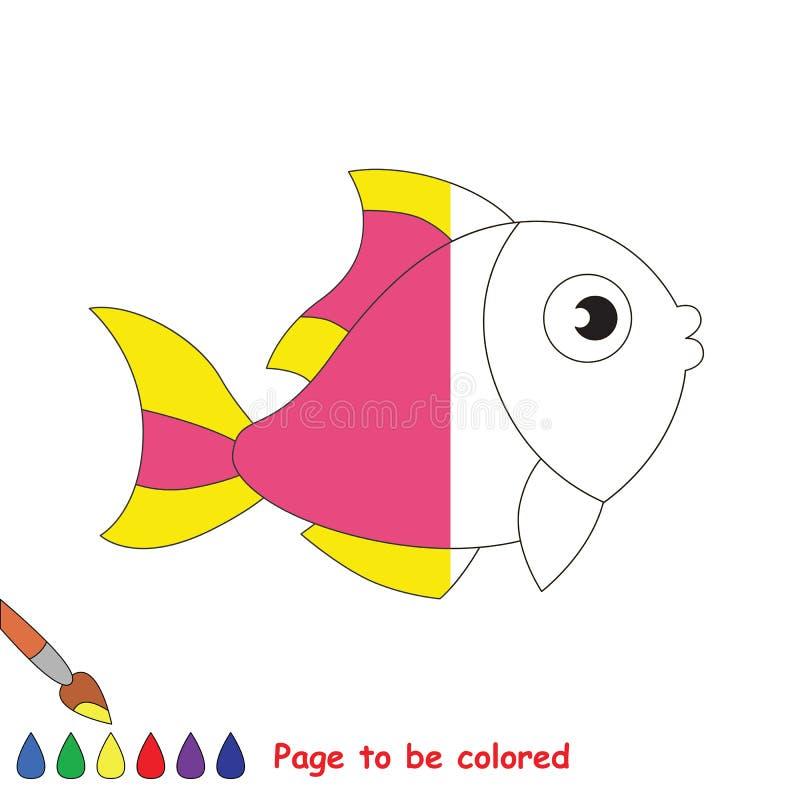 Page à colorer illustration stock