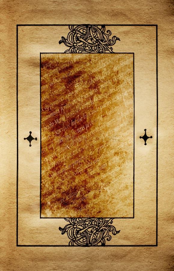 page antique image libre de droits