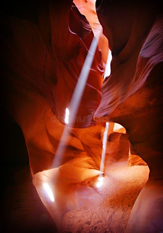 Page Arizona de gorge d'antilope photos libres de droits
