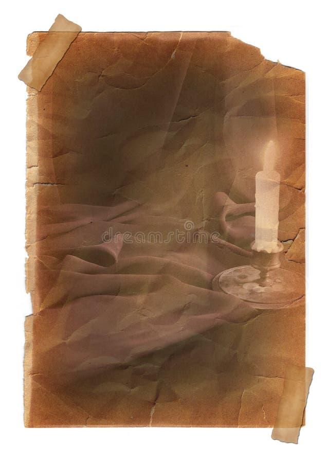 Page avec l'effet de vintage photos libres de droits