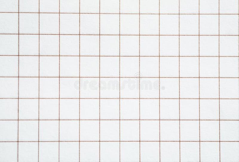 Page blanche carrée de texture de papier, plan rapproché image libre de droits