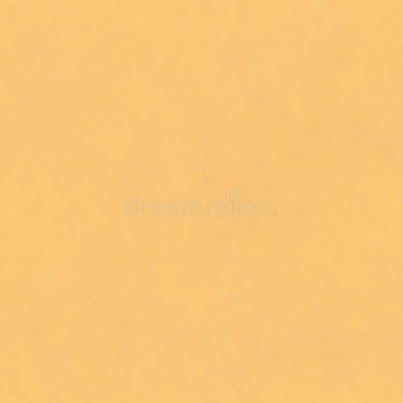 Page blanche de papier d'emballage jaune Texture de papier d'emballage Mod?le de papier sans couture Fond de carton images stock