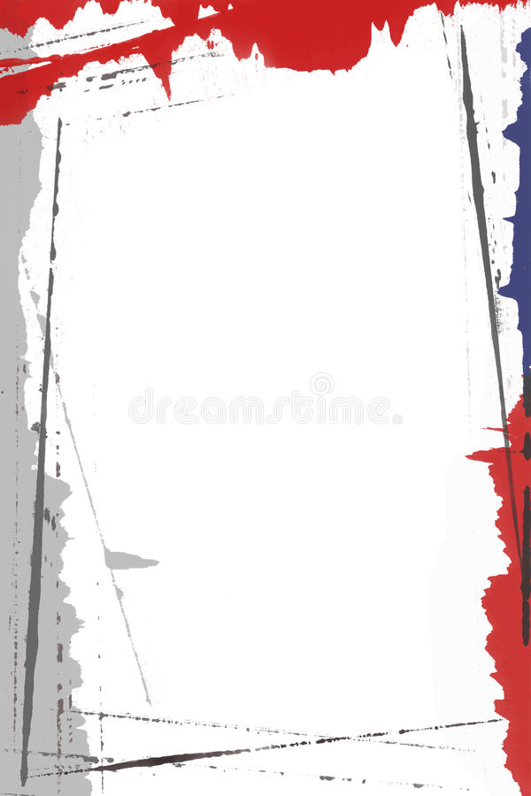 Page Border Painting royalty free stock images
