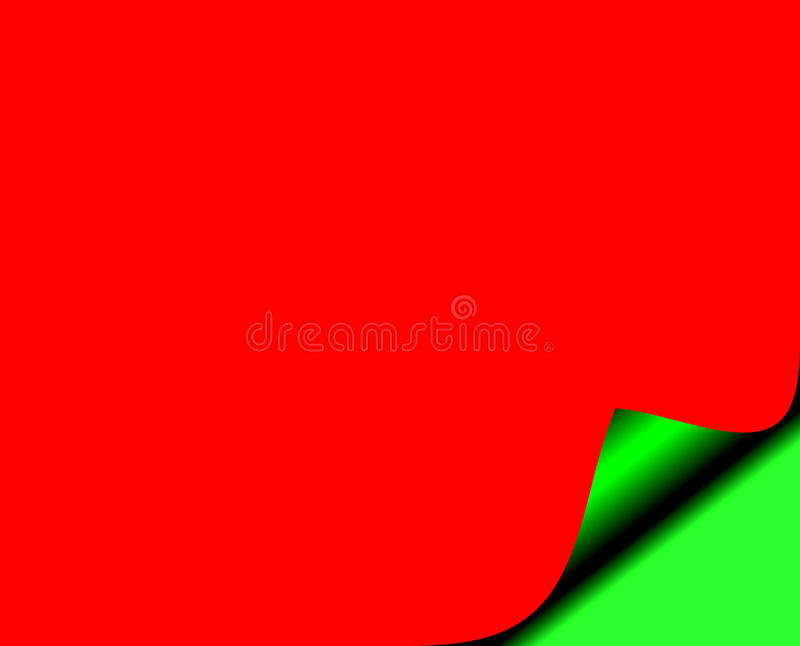 Download Page In Christmas Colours - Red And Green Stock Photo - Image: 21748454