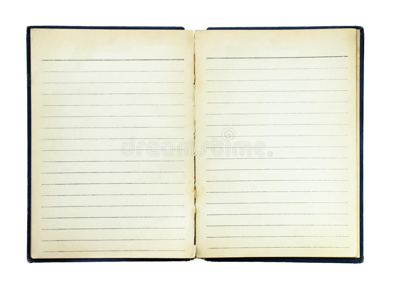 Page de livre image libre de droits