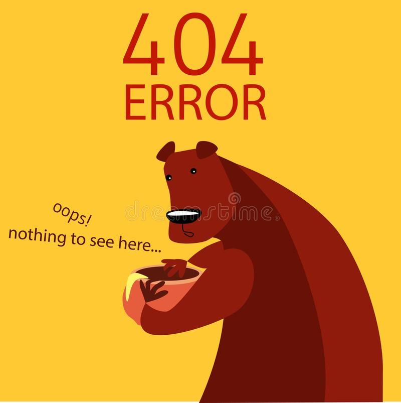 Error 404 Page Template  Page Not Found Background  Stock