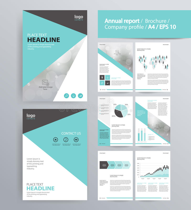 download page layout for company profile annual report brochure and flyer layout template