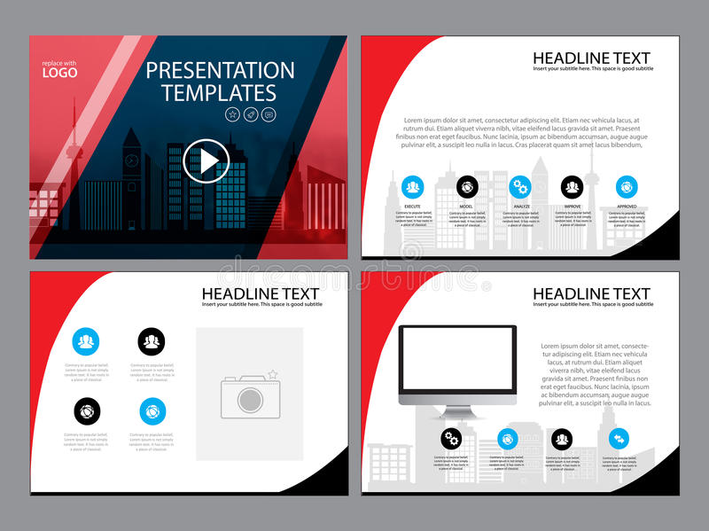 Page layout design template for presentation and brochure , Annual report, flyer page with infographic element. S design vector illustration