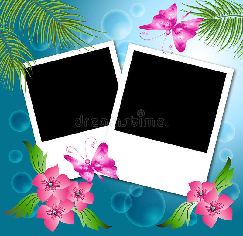 Download Page layout photo album. stock vector. Image of halftone - 15029794