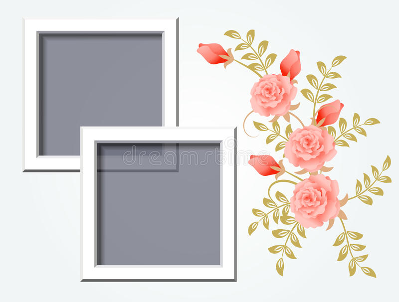 Download Page layout photo album stock vector. Image of border - 20267504