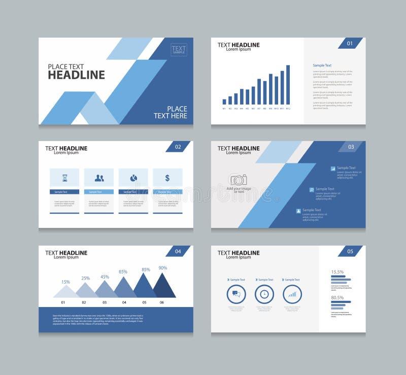 page presentation slide template stock vector - image: 76289912, Presentation templates