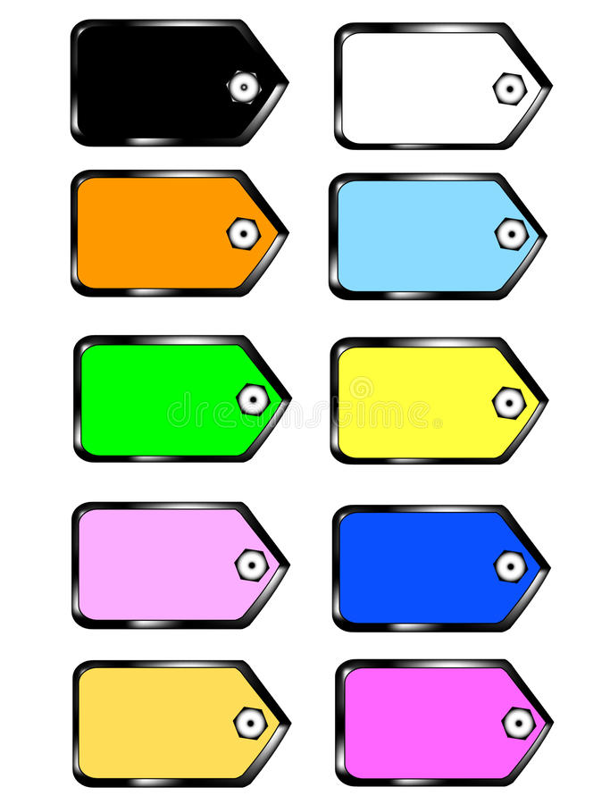 Download Page set colors sticky stock vector. Illustration of conceptual - 10325941