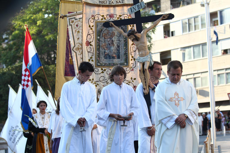 Pageantry for Assumption of Mary