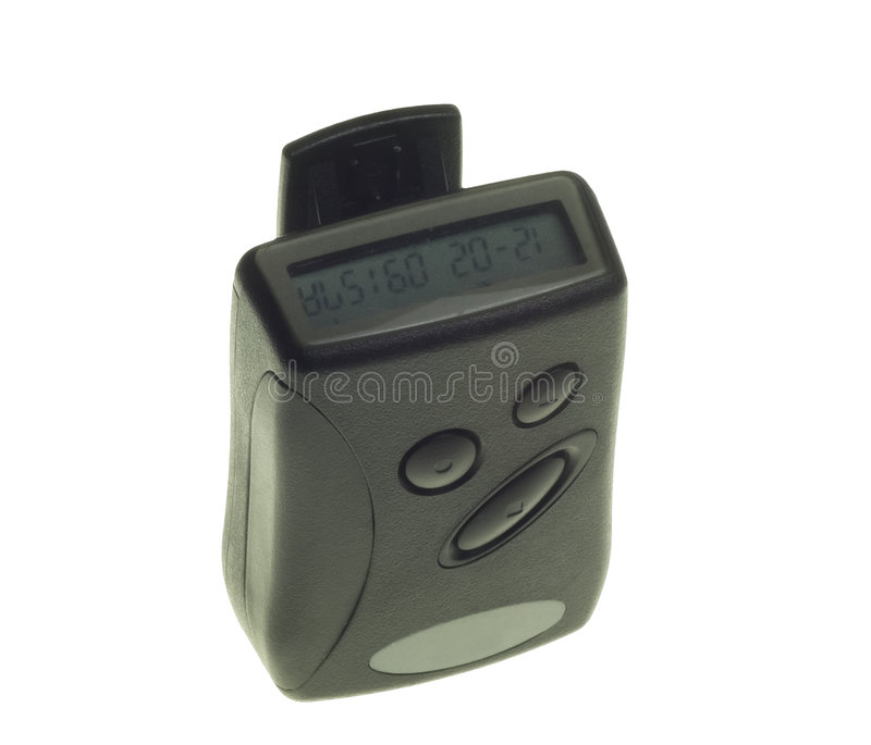 Pager stock fotografie