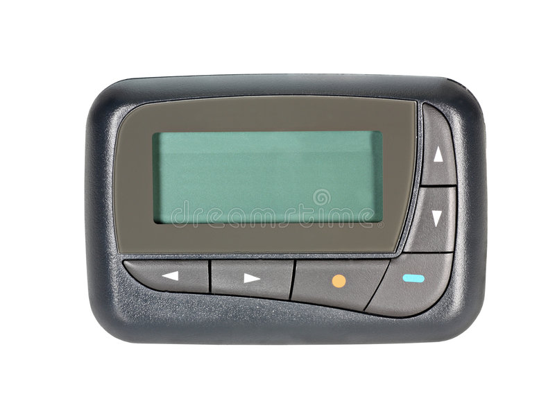 Download Pager stock photo. Image of space, screen, pager, studio - 6874702