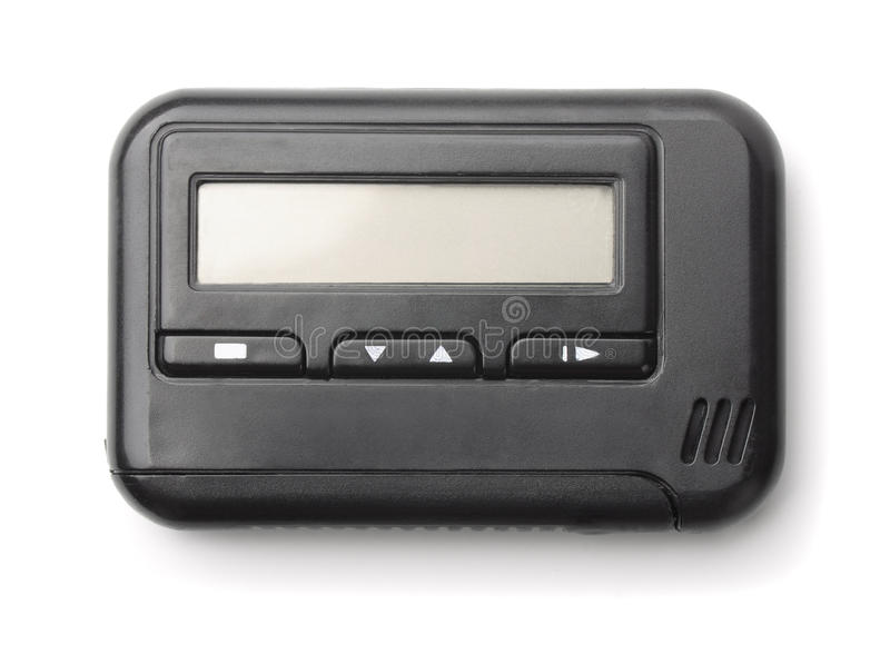 Pager royalty free stock photography