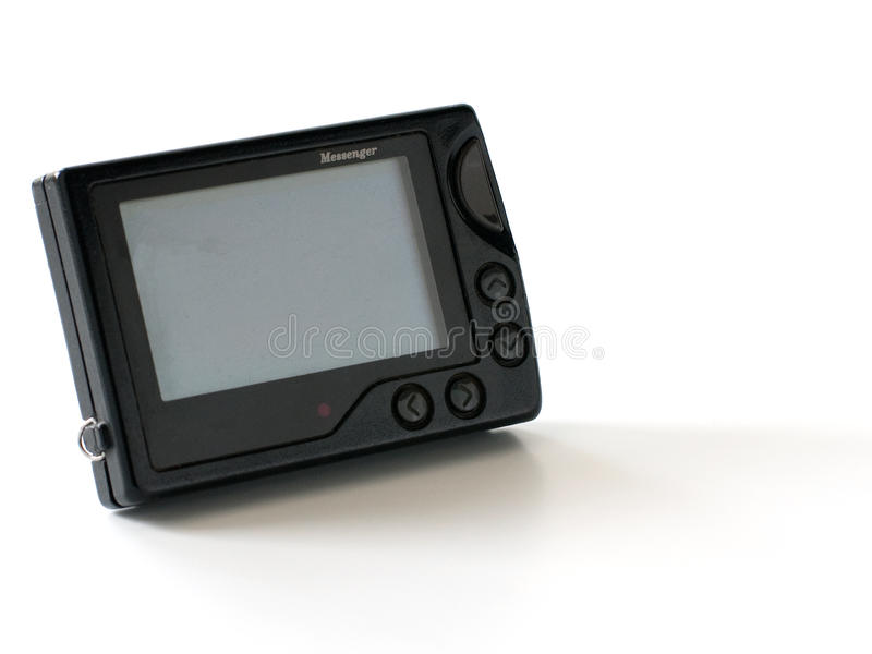Pager - retro messenger royalty free stock photography