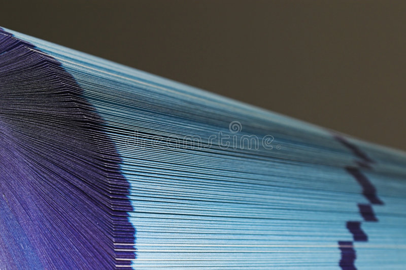 Pages éventées photo libre de droits