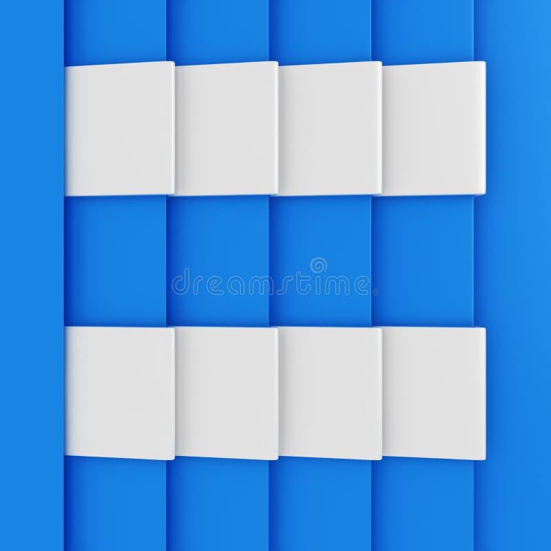 Pages bleues illustration libre de droits