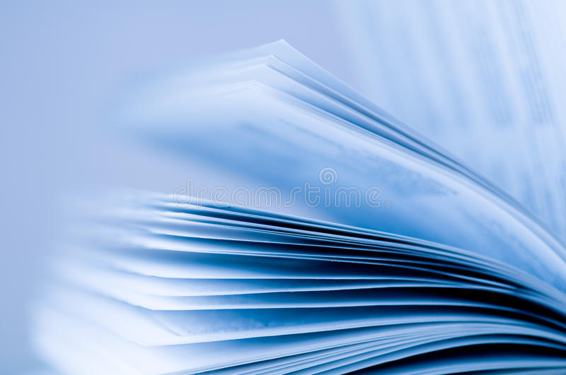 Pages of a book stock photos