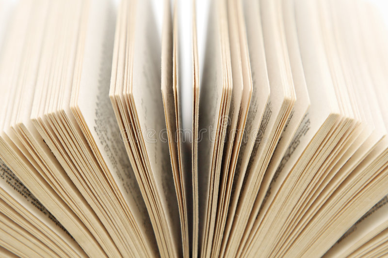 Pages of a book royalty free stock images