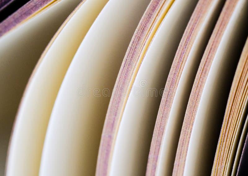 Pages d'un livre, photographie stock
