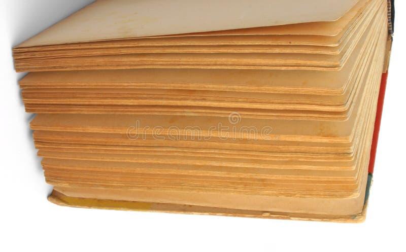 Pages de livre de cru photographie stock libre de droits