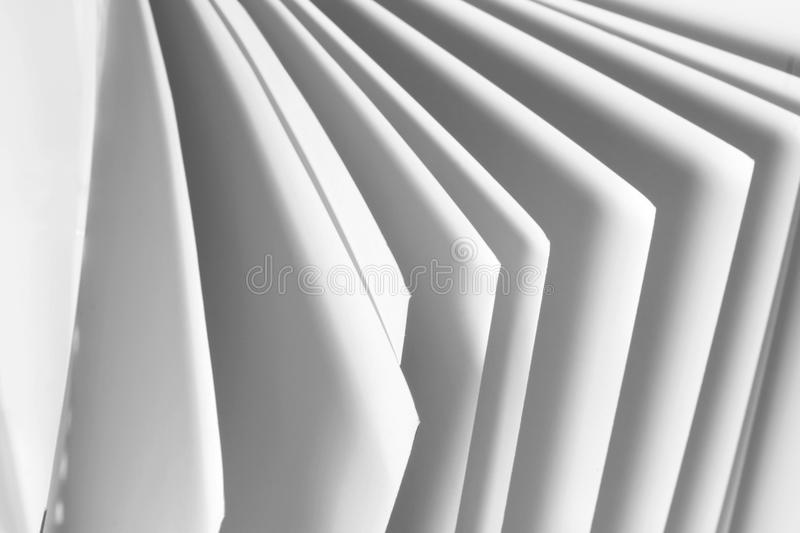Pages of Document Folder. Close up of Pages of Document Folder stock photos