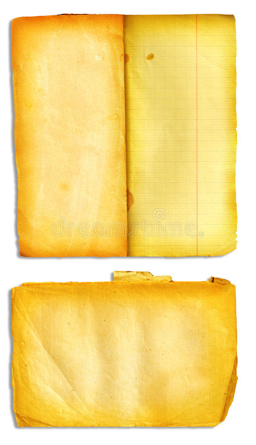 Pages ouvertes de livre de grunge illustration de vecteur