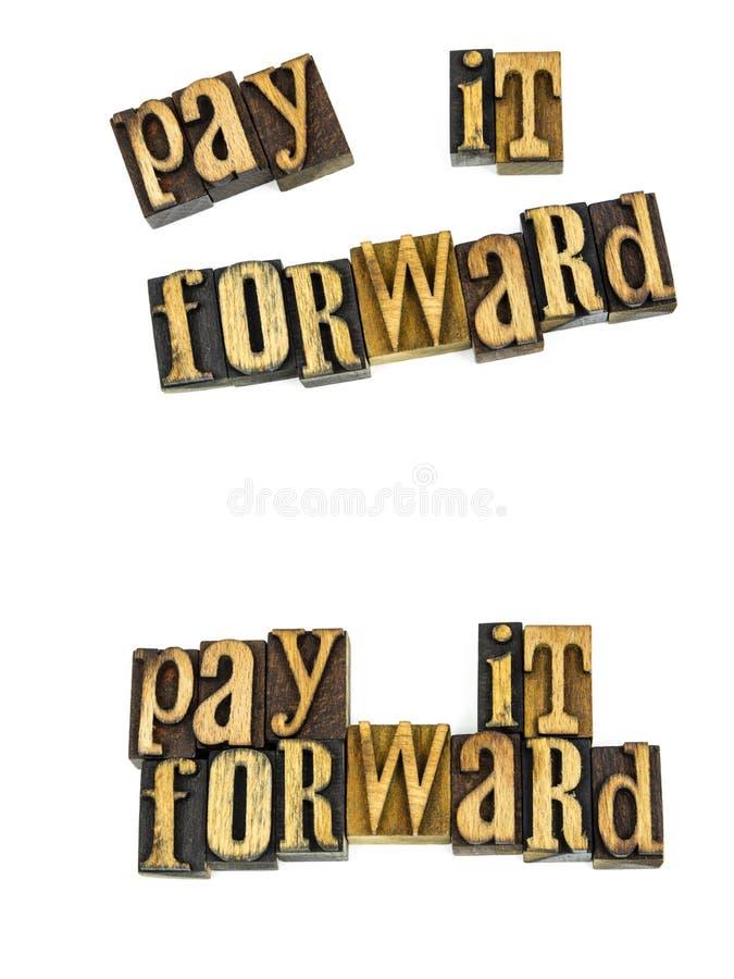 Paghigli il messaggio di andata dello scritto tipografico immagini stock