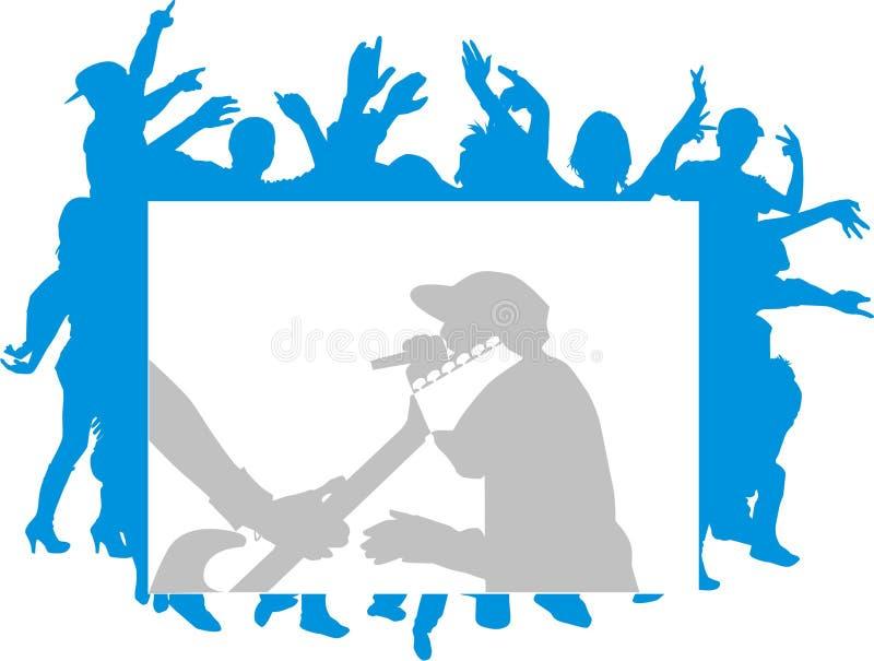 Download Pagina illustrazione di stock. Illustrazione di ballare - 3885923