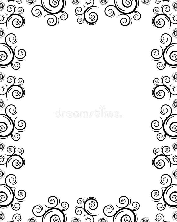 Pagina con le rotazioni royalty illustrazione gratis