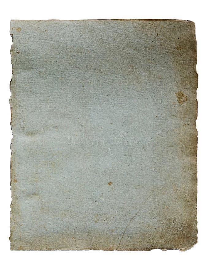 Pagina dal libro antico immagine stock