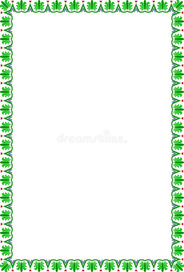 Download Pagina dei fiori illustrazione vettoriale. Illustrazione di gotico - 3892119