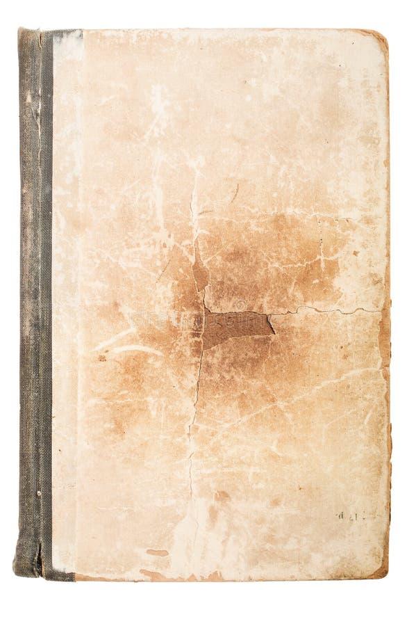 Pagina del vecchio libro Grunge ha strutturato la priorità bassa Fondo per l'insegna immagine stock libera da diritti
