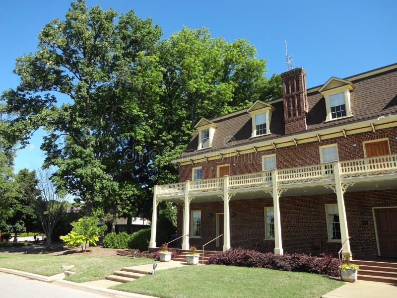Pagina-leurder Kunsten en Geschiedeniscentrum in Cary, Noord-Carolina royalty-vrije stock foto's
