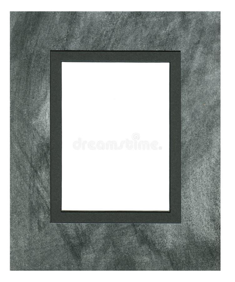 Pagina per la foto o il testo dalla stuoia del cartone con il taglio smussato fotografia stock
