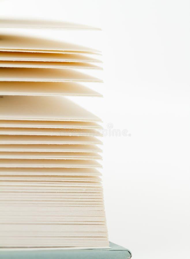Pagina's van een boek 2 royalty-vrije stock foto
