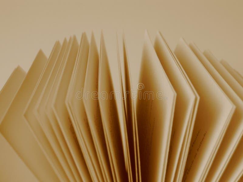 Pagina's van een Open Boek stock foto