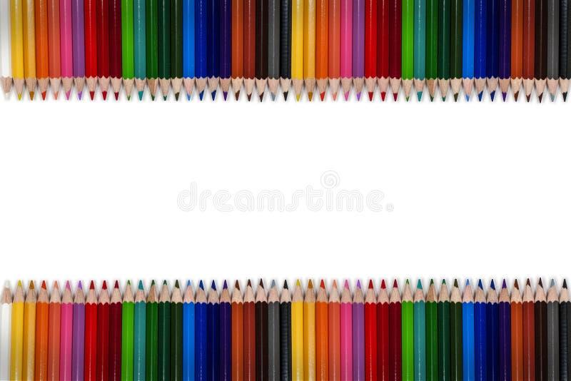 Pagina variopinta 01 della matita immagine stock libera da diritti