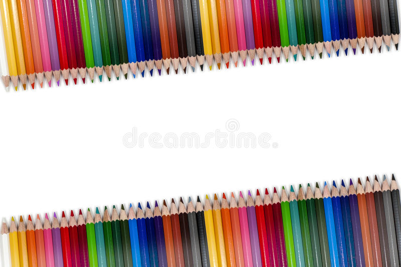 Pagina variopinta 03 della matita immagine stock libera da diritti