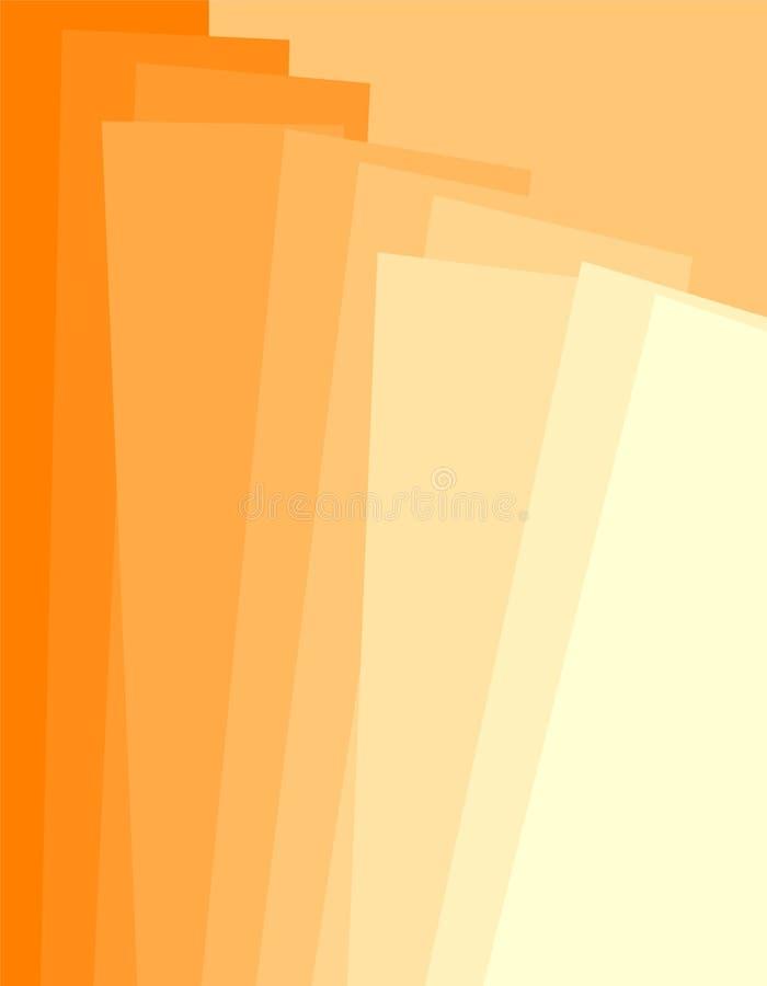 Paginación de cubierta 1 ilustración del vector