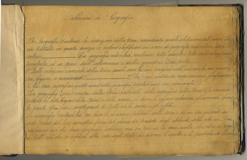 Paginación original del cuaderno de la vendimia