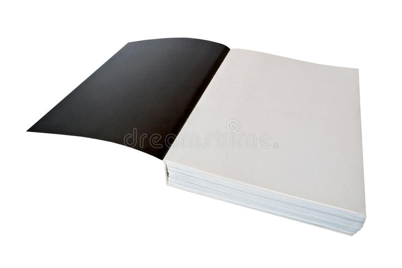Paginaciones blancos y negros fotografía de archivo libre de regalías