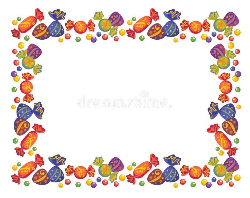 Pagine dalle caramelle royalty illustrazione gratis