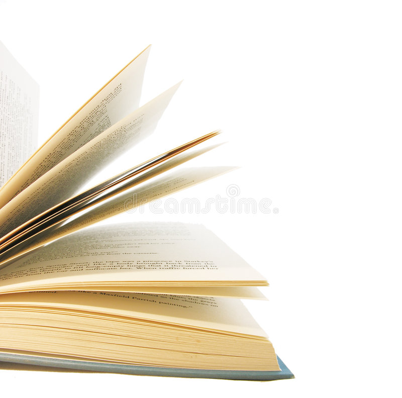 Pagine di un libro fotografia stock