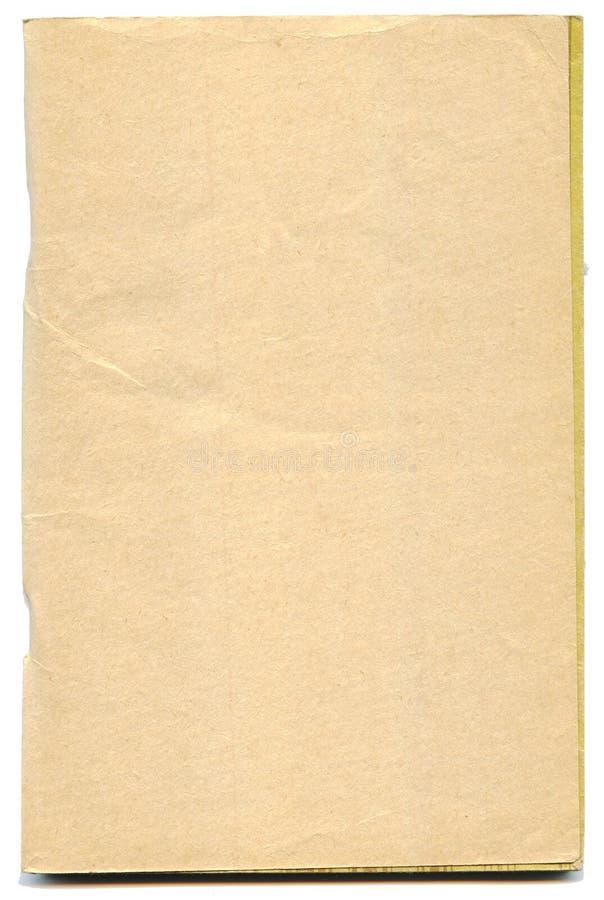 Pagine ingiallite del libro antico immagine stock libera da diritti