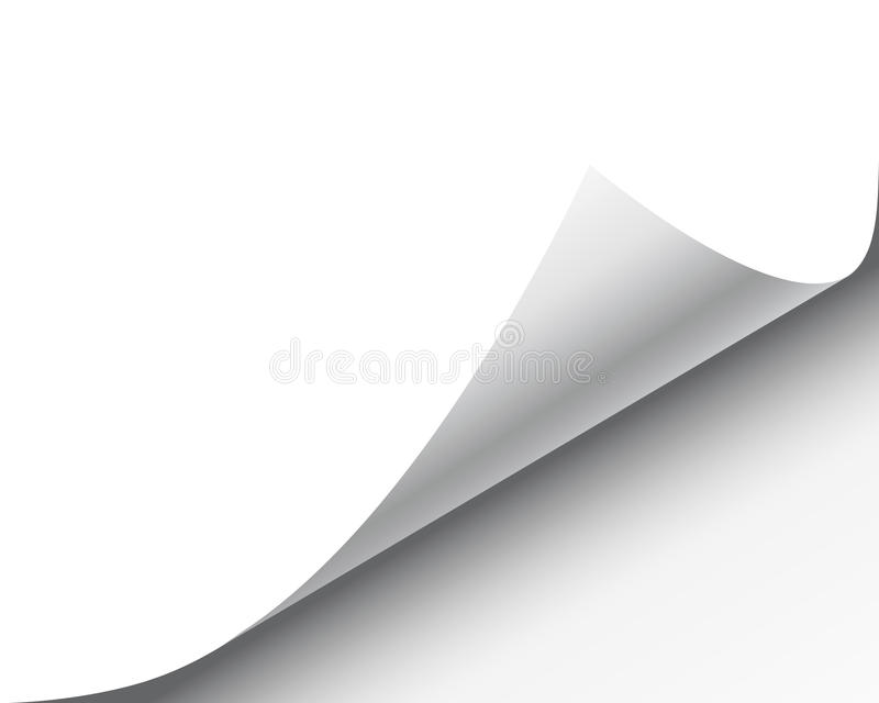 Pagine a onda ilustração stock