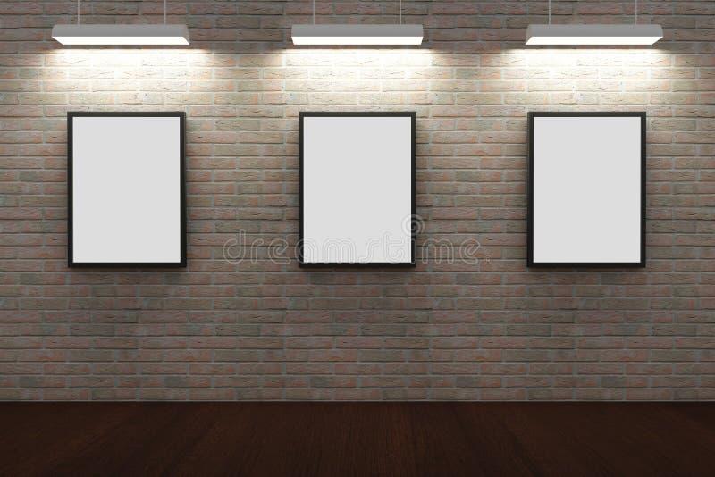 Pagine sul muro di mattoni fotografie stock libere da diritti